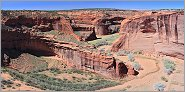 Canyon de Chelly en panoramique (CANON 5D +EF 24mm L)