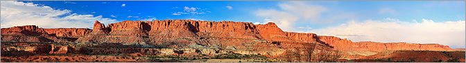Capitol Reef National Park - Torrey en vue panoramique (CANON 5D + EF 100mm macro F2,8)