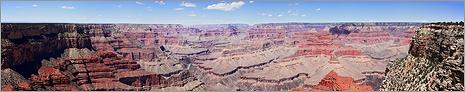 Grand Canyon NP - Hopi Point en vue panoramique (CANON 5D + EF 50mm)