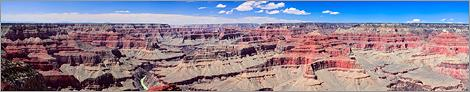 Grand Canyon NP - Hopi Point en vue panoramique (CANON 5D + EF 100 macro)