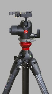 trepied carbone manfrotto 441, rotule 468mgrc2, boule niveleuse 554